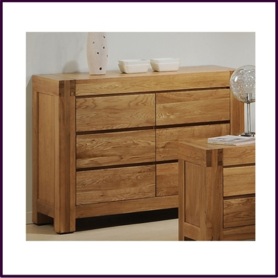 Victoria Wide Chest 6 Drawer