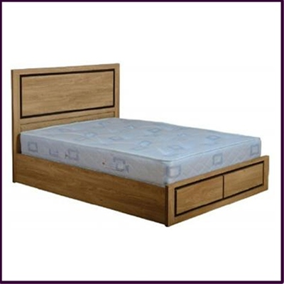 "Charles 5"" Bed with Drawers"