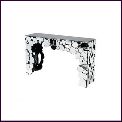 Illusions Mirrored Console Table