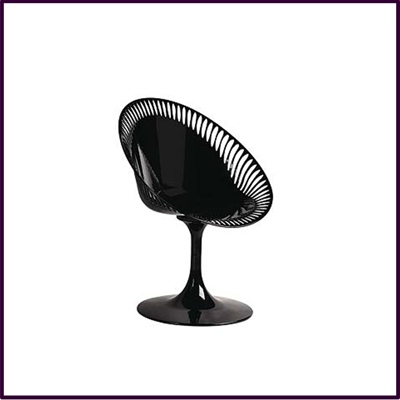 Black Sendero Reverse Chair Abs