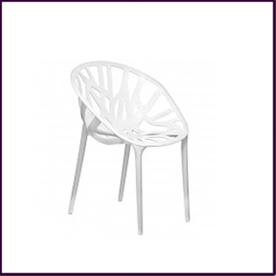 White Nido Dining Chair