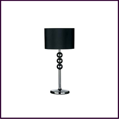 Ball Feature Lamp Gunmetal