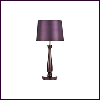 OUT OF STOCK Purple Feature Lamp High Gloss With Purple Shade