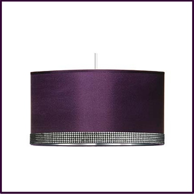 Radiance Purple Pendant Shade