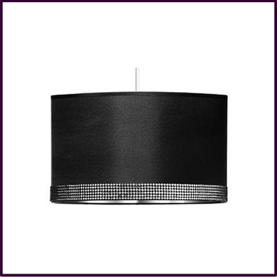 Radiance Black Pendant Shade