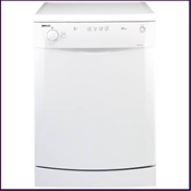 This Beko 'AAA' graded dishwasher features a 30 minute quick wash and glass care programme