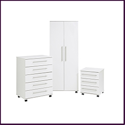 Bobby Bedroom Collection - White