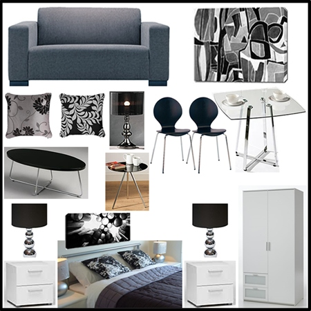 Noir Bronze Range furniture pack