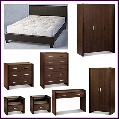 City - bedroom furniture package