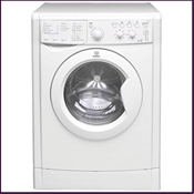 Indesit start white 1400rpm washer dryer, ABB rated with 6kg wash/5kg dry loads and 16 programmes including delicate wash and economy wash.