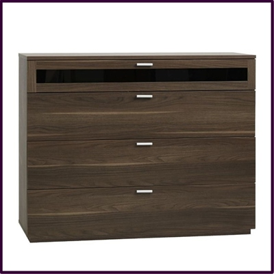 New York 4 drawer - dark walnut