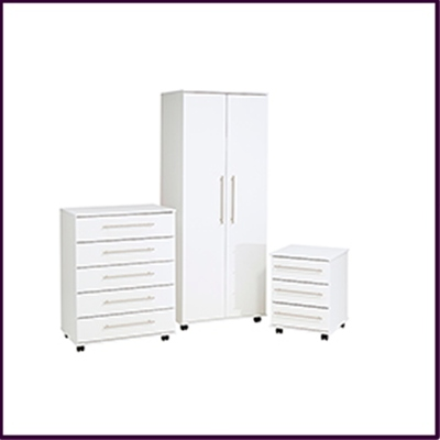 New York Bedroom Collection - White