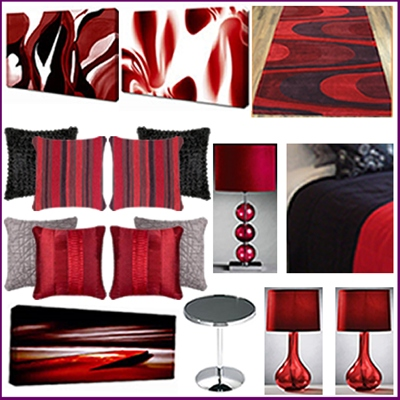 2 Bed Poppy Red Accessory Pack