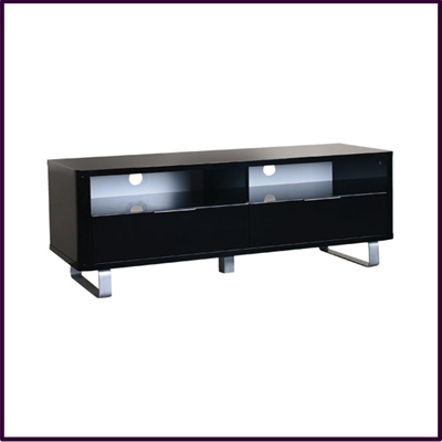 Low Sideboard / TV Unit in Black Gloss