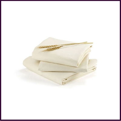 Alma Papa - Fitted Sheets - 2PK - Coconut White