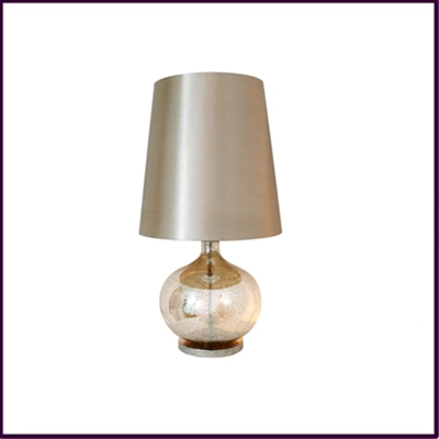 Champagne Lustre Table Lamp