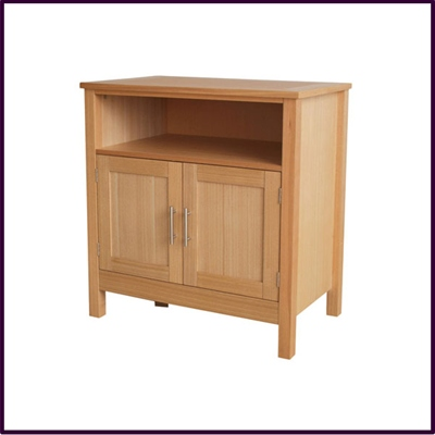 Oak Veneer TV Unit / Sideboard