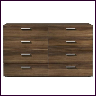 Pepe 8 drawer chest in plum £139