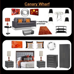 canary wharf furniture package