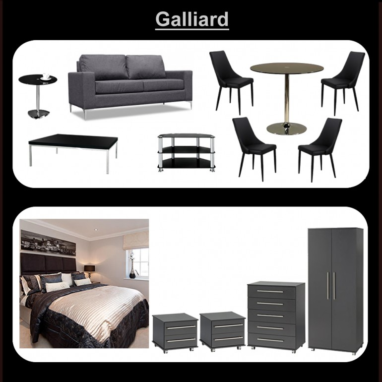 Galliard furniture package for Furniture packages uk